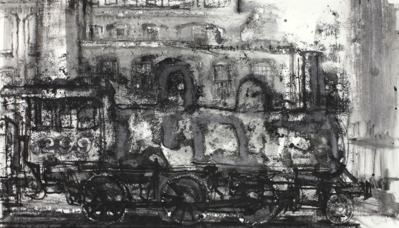 Study for a Cooke 2-6-0 Locomotive #2, 2014
