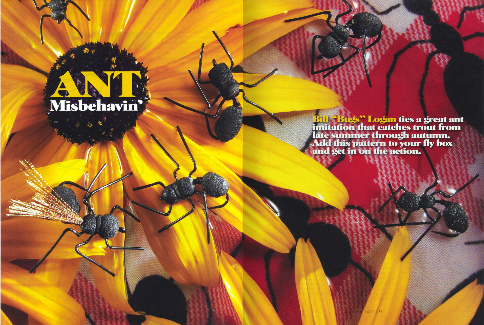 LOGAN-ANT MISBEHAVIN SPREAD